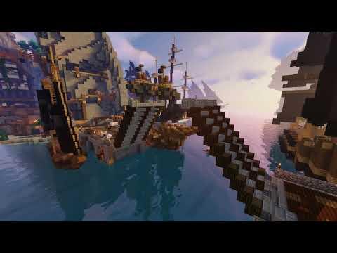 PirateCraft - Build working doors gates & bridges