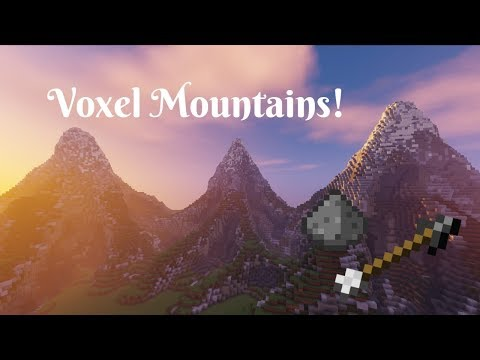 How to Build Mountains with VoxelSniper