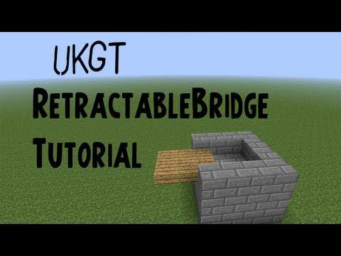 RetractableBridge Bukkit Plugin Tutorial
