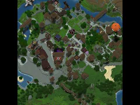 PirateCraft Timlapse - warp shop area