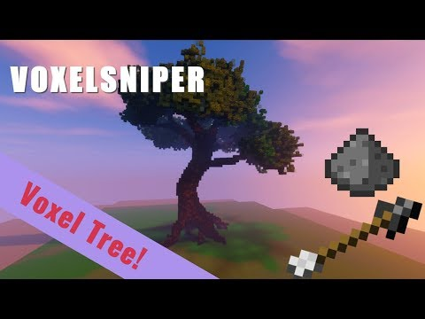 VoxelSniper Tutorial - Large Voxel Tree