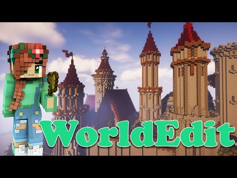 Worldedit Tutorial   How to Create Basic Structures in Minecraft   Copy Paste Flip Rotate & more!