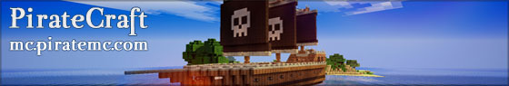 PirateCraft - Pirate Themed minecraft server