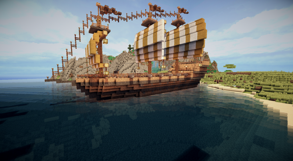 Moving Ships Piratecraft