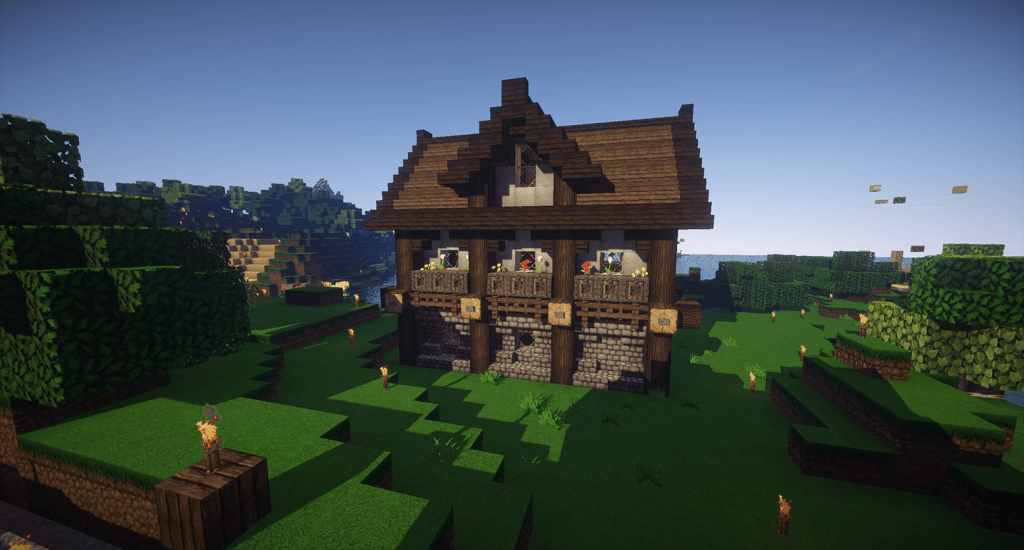 How To Build A French Building In Minecraft
