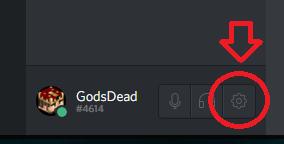 Discord user settings for setting a custom image and setting UI theme color