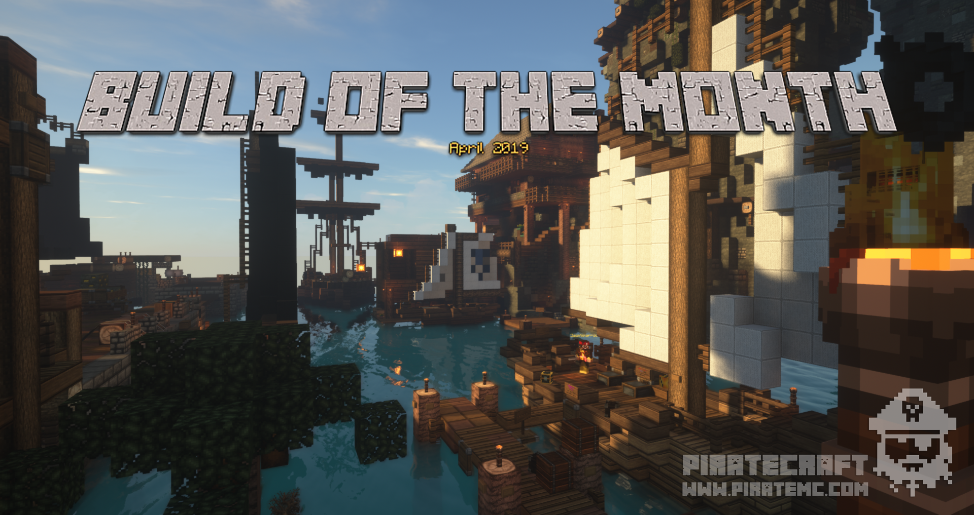 April 2019 Build of the Month Competition - PirateCraft