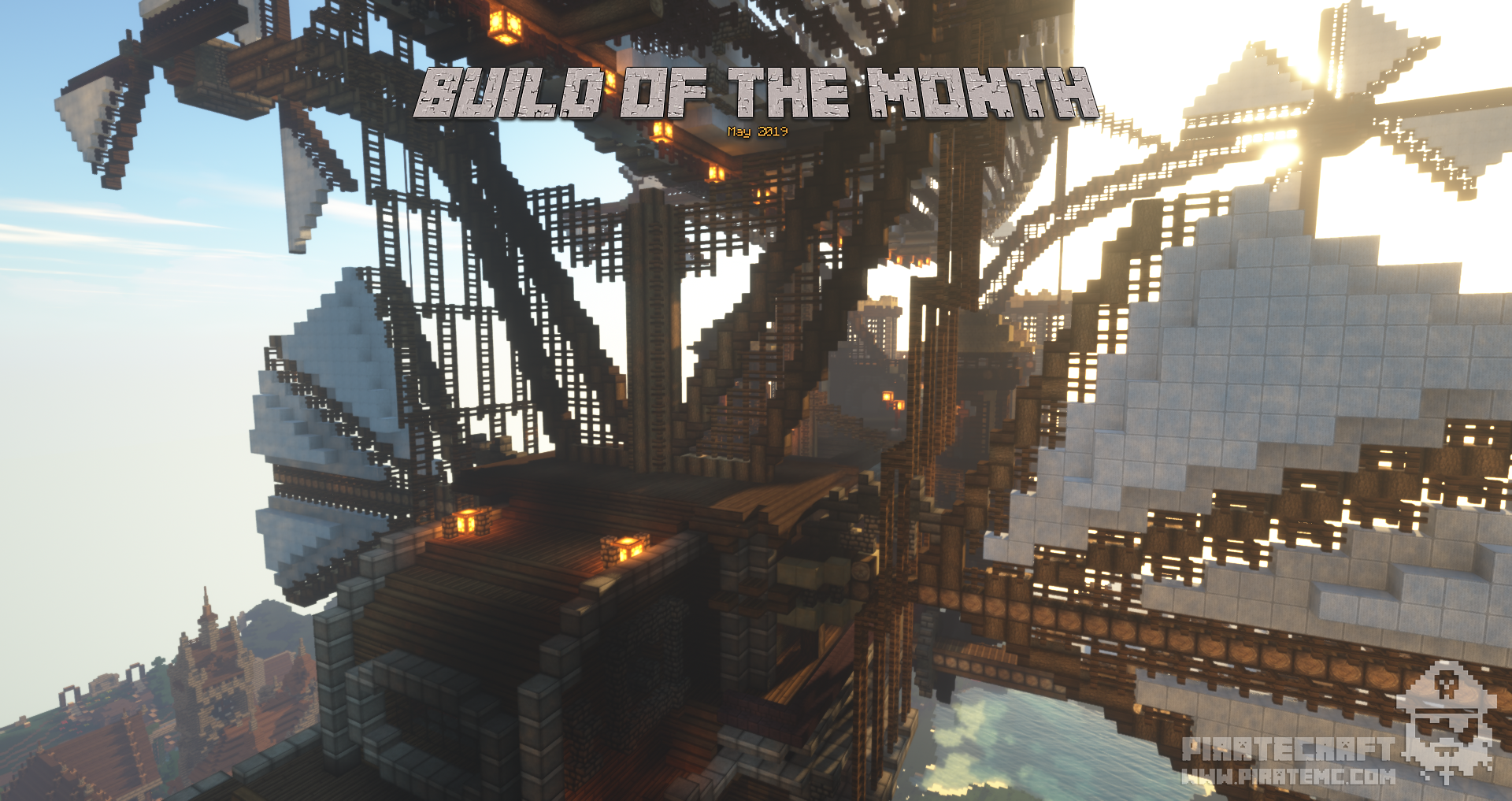 May 2019 Build of the Month Competition - PirateCraft